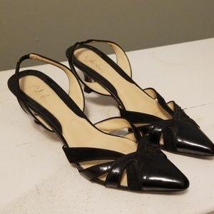 Cole Haan sling back kitten heels 7.5